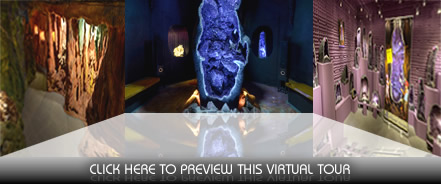 The Crystal Caves | Virtual Tours - GVG Media